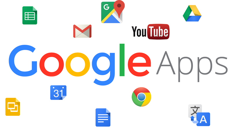 Google Apps - GMail, Drive, Youtube, Maps, Documenti, Fogli, Presentazioni, Calendar, Translate